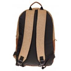 На фото 3 - Большой мужской рюкзак для города, цвет бежевый