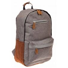 На фото 1 - Большой мужской рюкзак для города, цвет сер...
