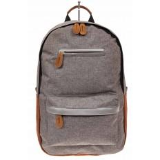 На фото 2 - Большой мужской рюкзак для города, цвет серый