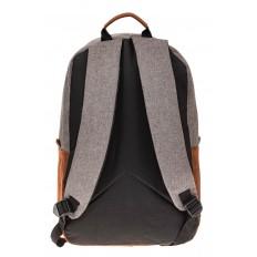 На фото 3 - Большой мужской рюкзак для города, цвет серый