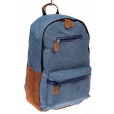На фото 1 - Большой мужской рюкзак для города, цвет син...