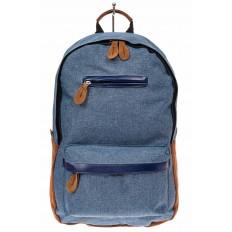 На фото 2 - Большой мужской рюкзак для города, цвет синий