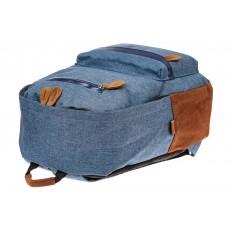 На фото 4 - Большой мужской рюкзак для города, цвет синий