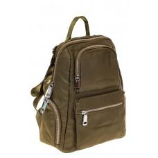 На фото 1 - Текстильный женский рюкзак для города, цвет...