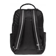 На фото 3 - Мужской рюкзак из текстиля, цвет черный