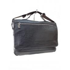 На фото 1 - Мужской портфель из искусственной кожи, коричневый цвет