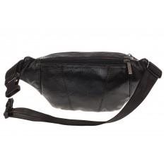 На фото 3 - Классическая сумка на пояс для мужчин из натуральной кожи