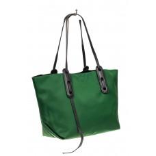 На фото 1 - Сумка из текстиля, цвет зеленый