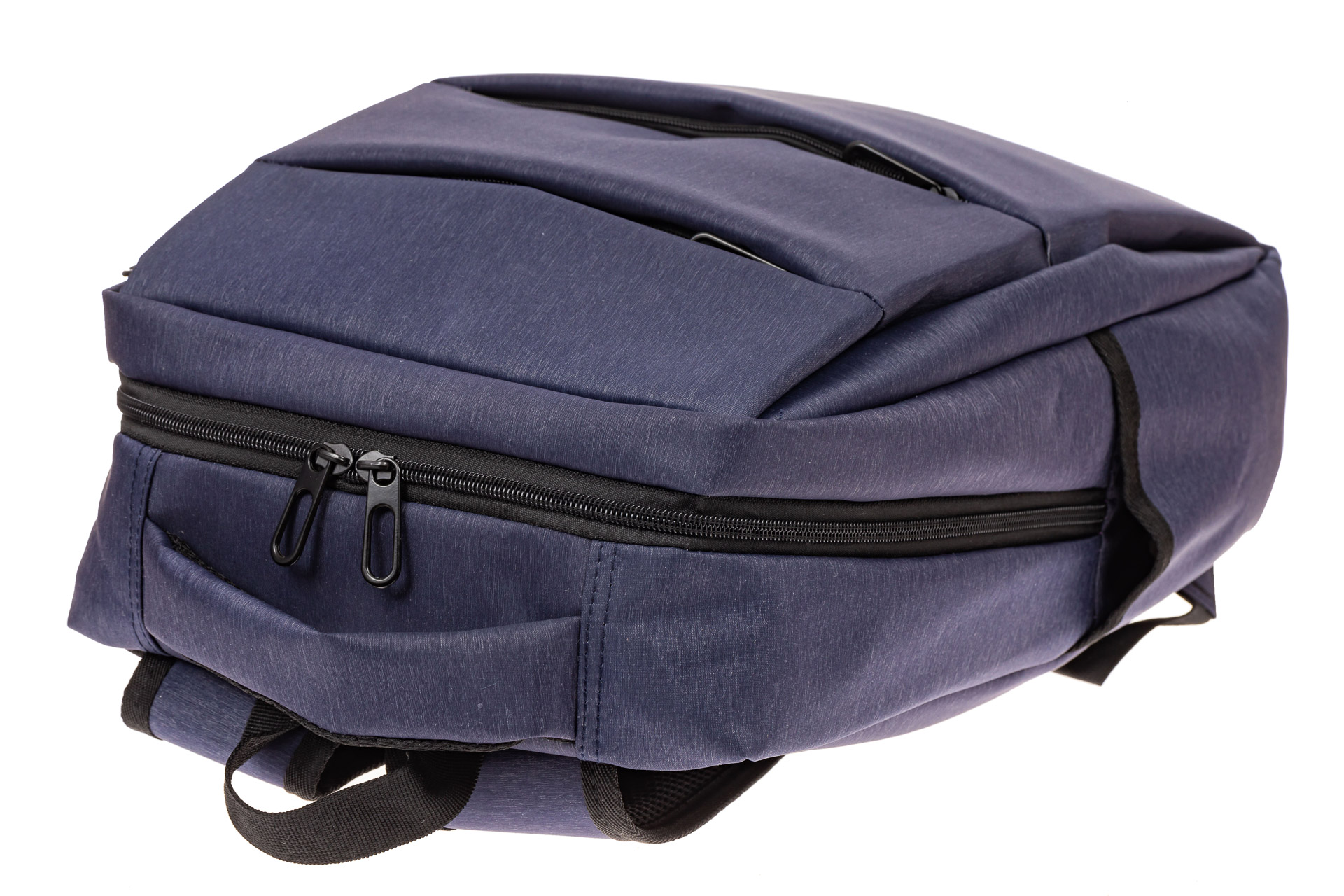 На фото 4 - Футуристичный мужской рюкзак из текстиля, цвет синий