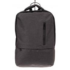 На фото 2 - Строгий мужской рюкзак из текстиля, цвет темно-серый