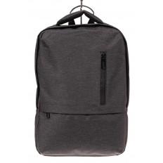 На фото 3 - Строгий мужской рюкзак из текстиля, цвет темно-серый