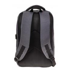 На фото 3 - Строгий мужской рюкзак из текстиля, цвет серый