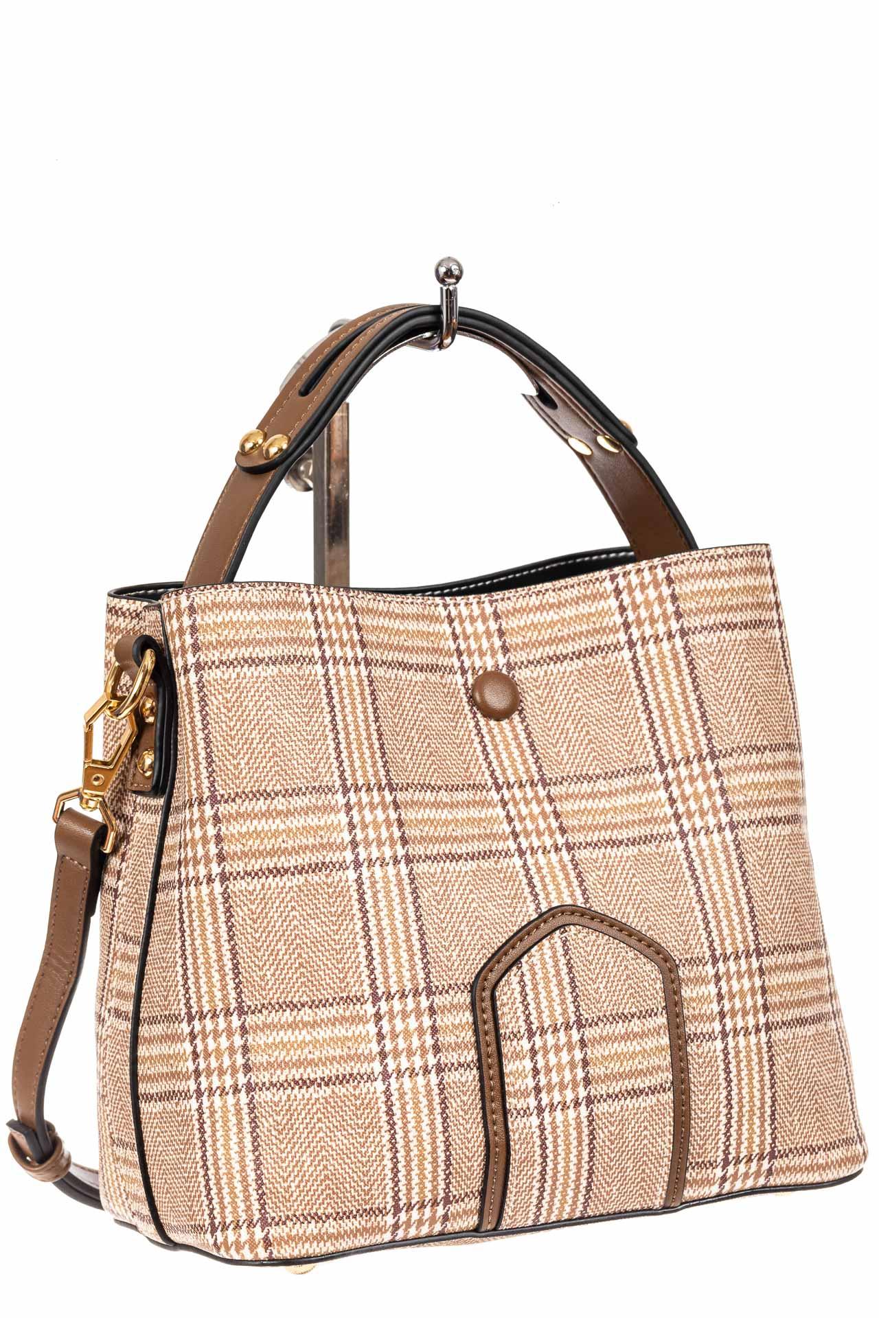 Женская сумка из искусственной кожи, цвет бежевый800044PJ0420/10