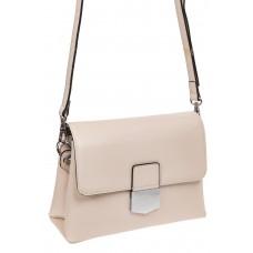 На фото 1 - Сумка-портфель из натуральной кожи, цвет белый