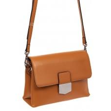 На фото 1 - Сумка-портфель из натуральной кожи, цвет коричневый