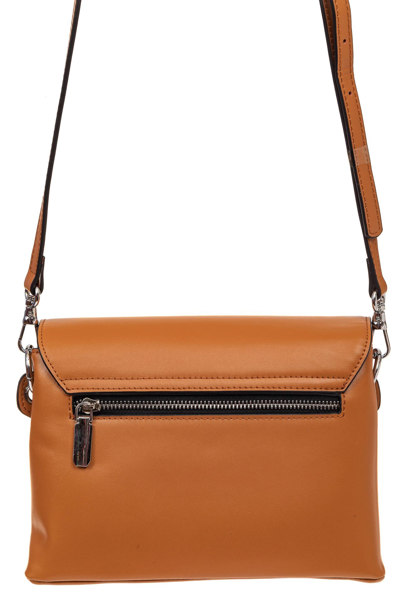 На фото 2 - Сумка-портфель из натуральной кожи, цвет коричневый