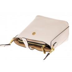 На фото 3 - Женская сумка из натуральной кожи, цвет белый