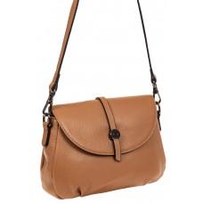 На фото 1 - Мини shoulder bag из натуральной кожи, цвет...