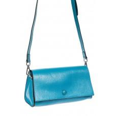 На фото 1 - Сумка, цвет голубой