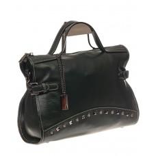 На фото 1 - Женская сумка кантри из натуральной кожи, ц...