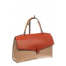 На фото 1 - Женская сумка портфель из натуральной кожи,...