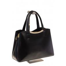 на фото Черная handbag из искусственной кожи 8123-9MJ5