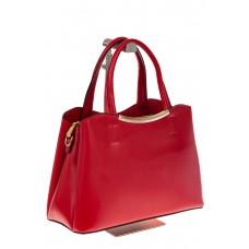 на фото Красная handbag из искусственной кожи 8123-9MJ5