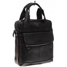 На фото 1 - Мужская сумка тоут из натуральной кожи