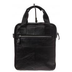 На фото 3 - Мужская сумка тоут из натуральной кожи