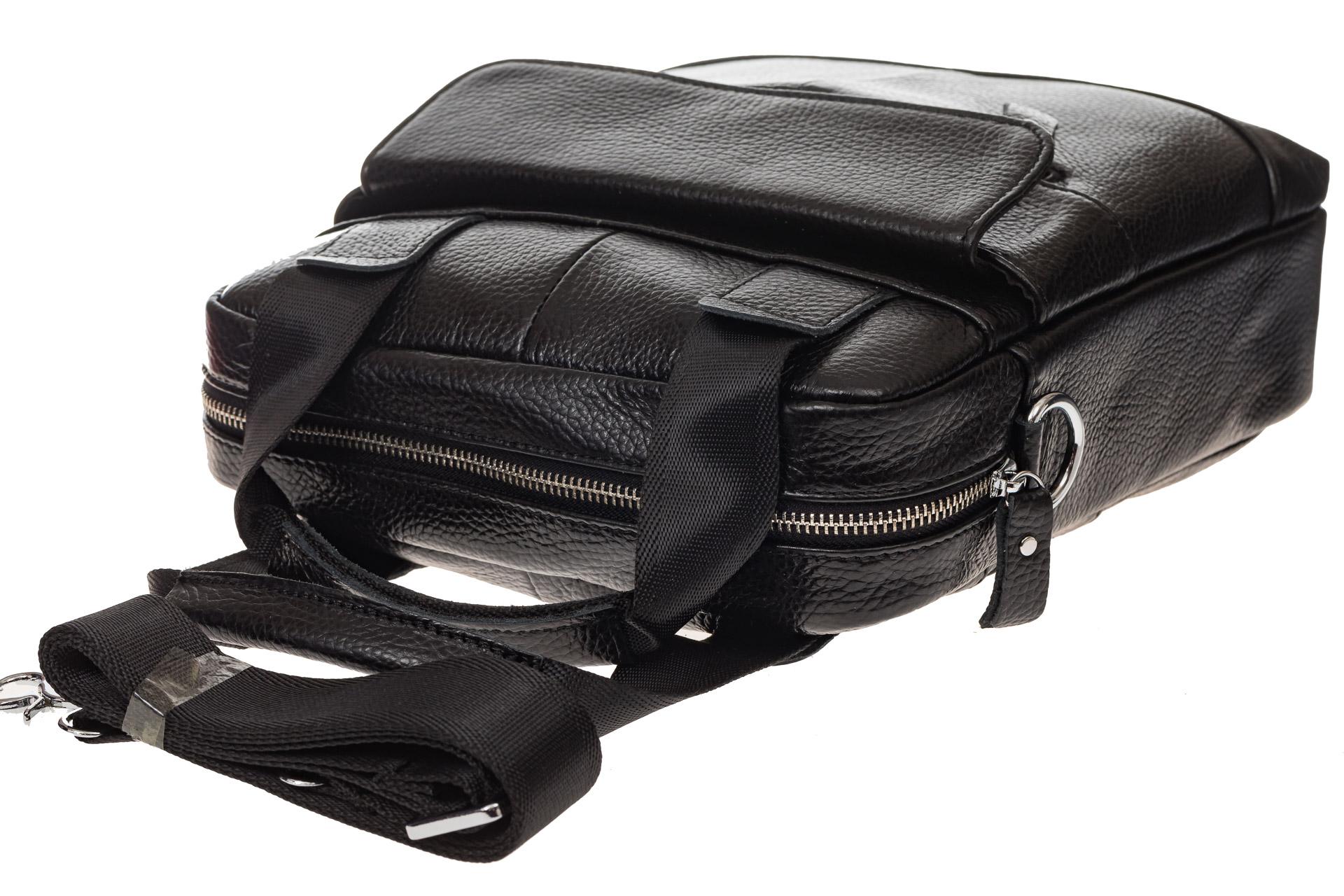На фото 4 - Мужская сумка тоут из натуральной кожи