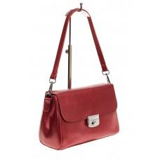 На фото 1 - Классическая женская сумка из натуральной к...