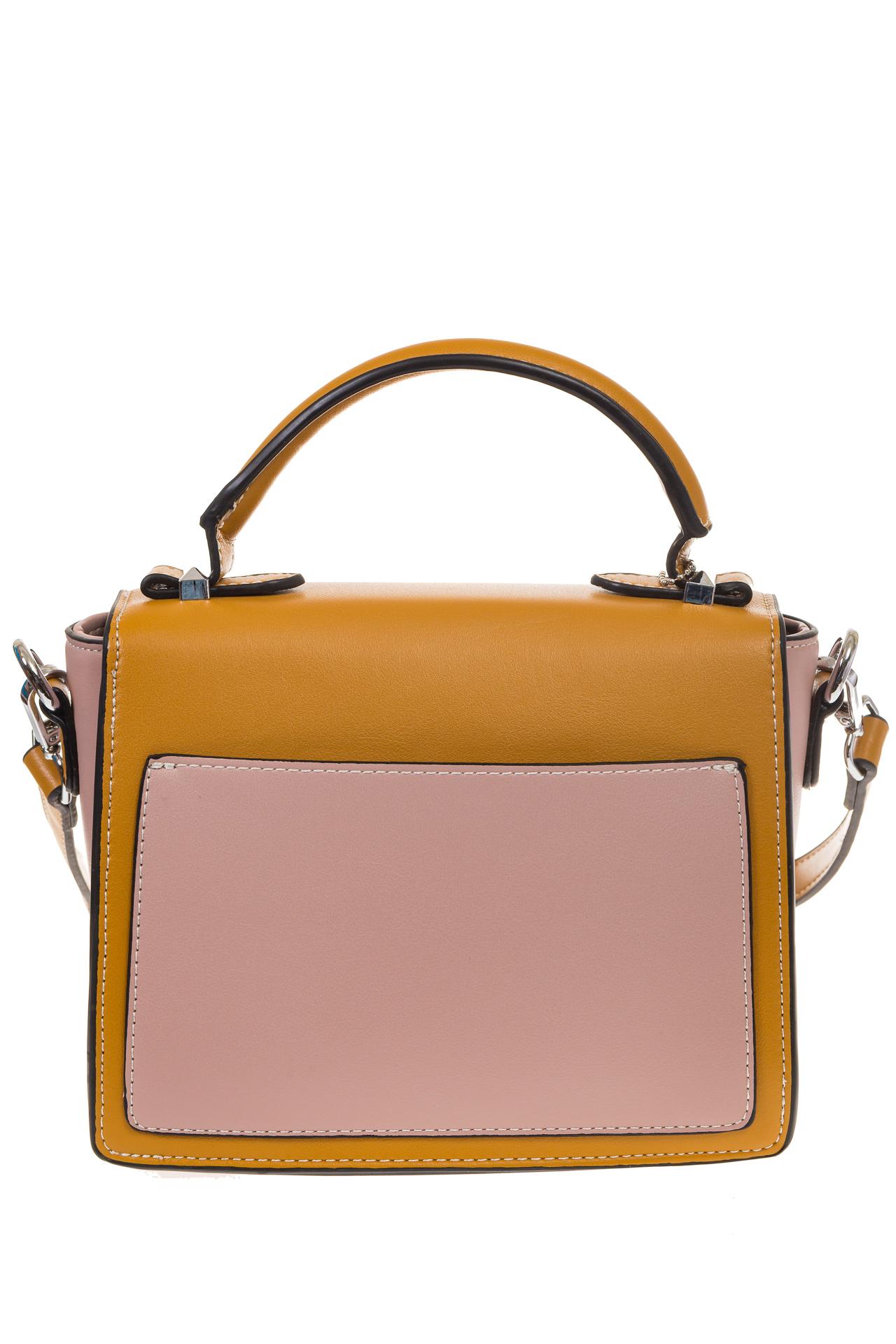 На фото 3 - Кросс-боди, цвет коричневый с розовым 818