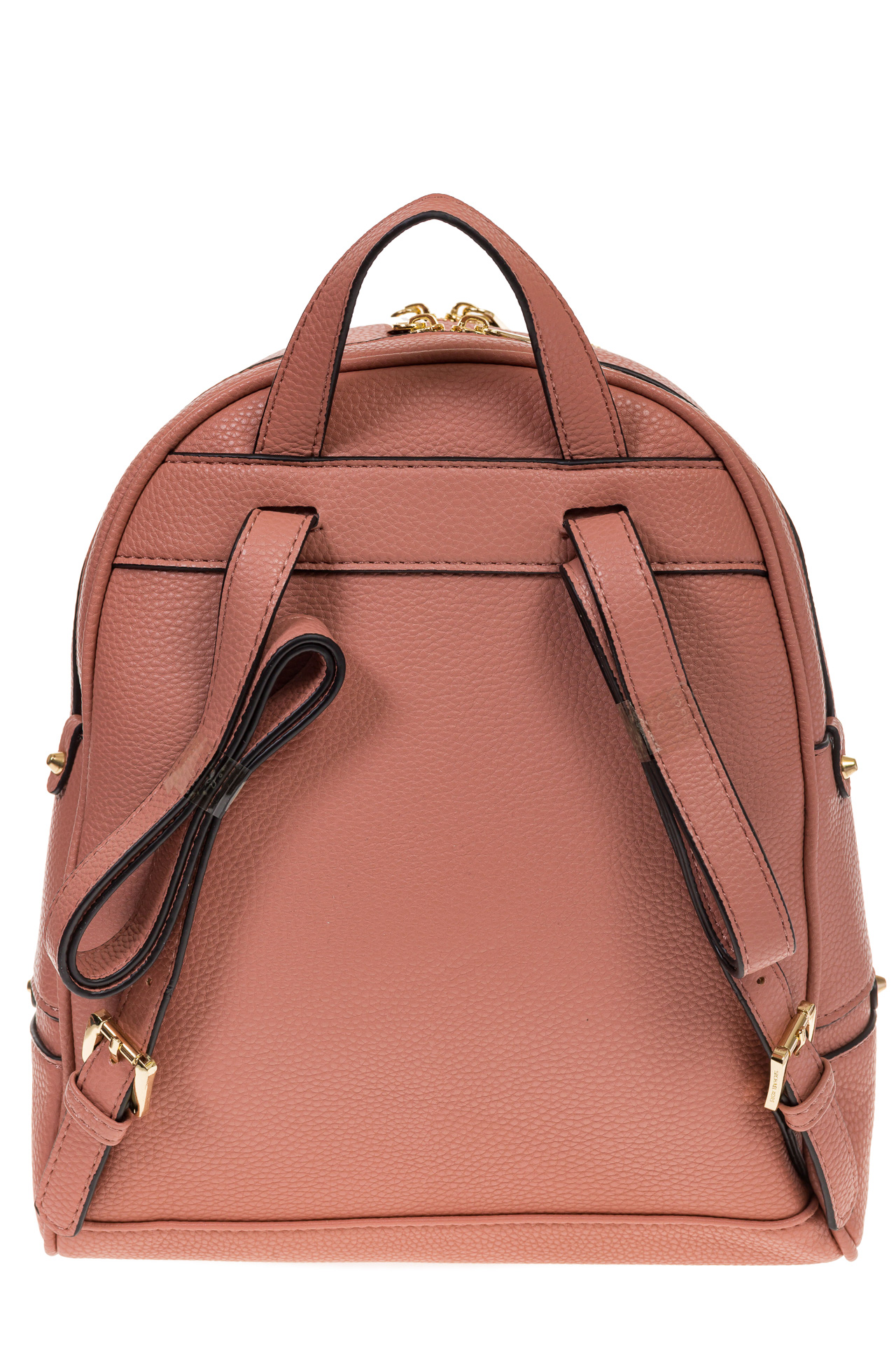 На фото 3 - Городской женский рюкзачок из розовой эко-кожи 8220