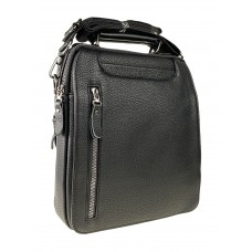 На фото 1 - Мужская сумка-планшет из натуральной кожи, цвет чёрный