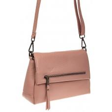 На фото 1 - Женская сумка-трапеция из натуральной кожи,...