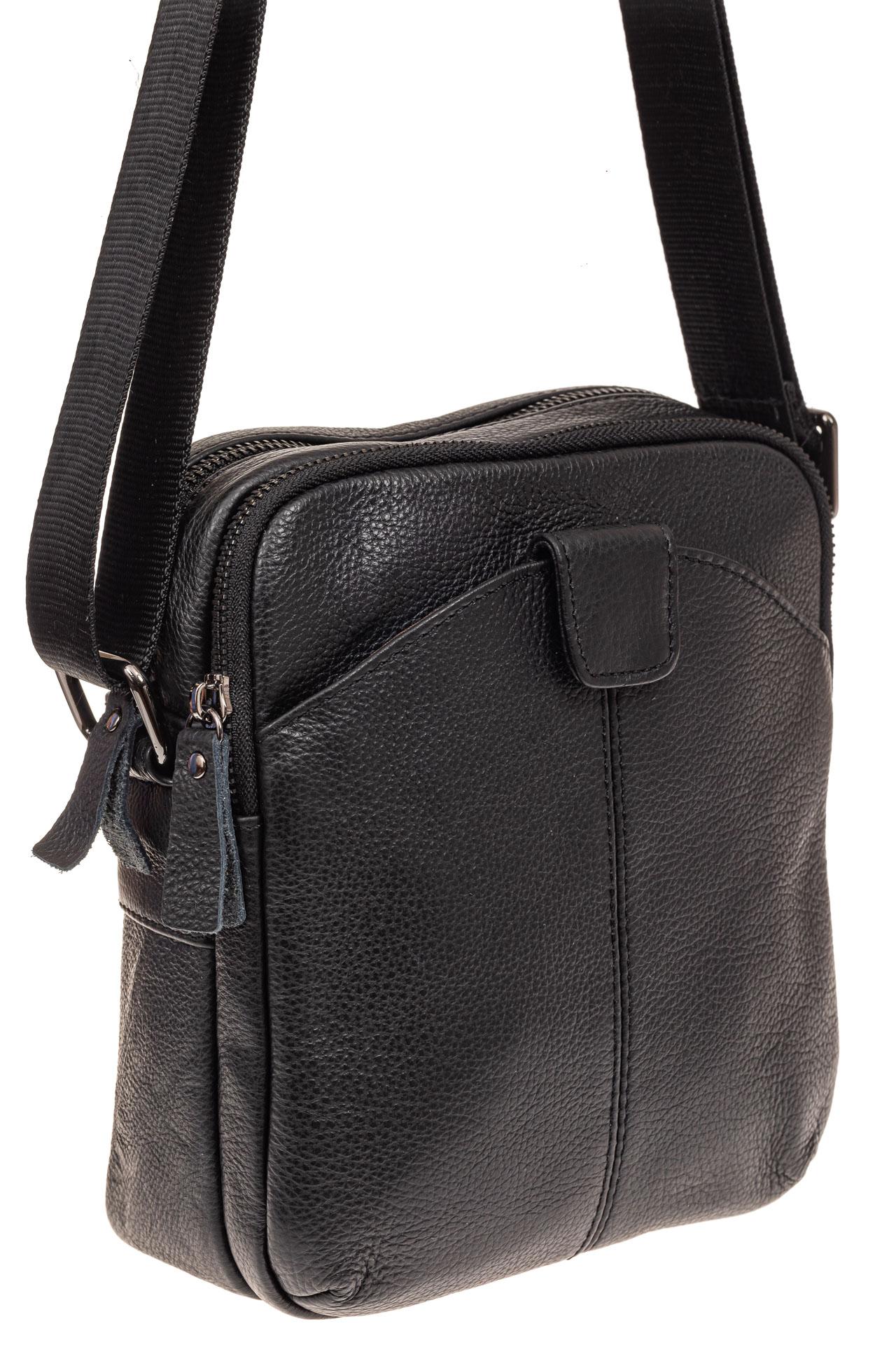 На фото 1 - Мужская сумка через плечо