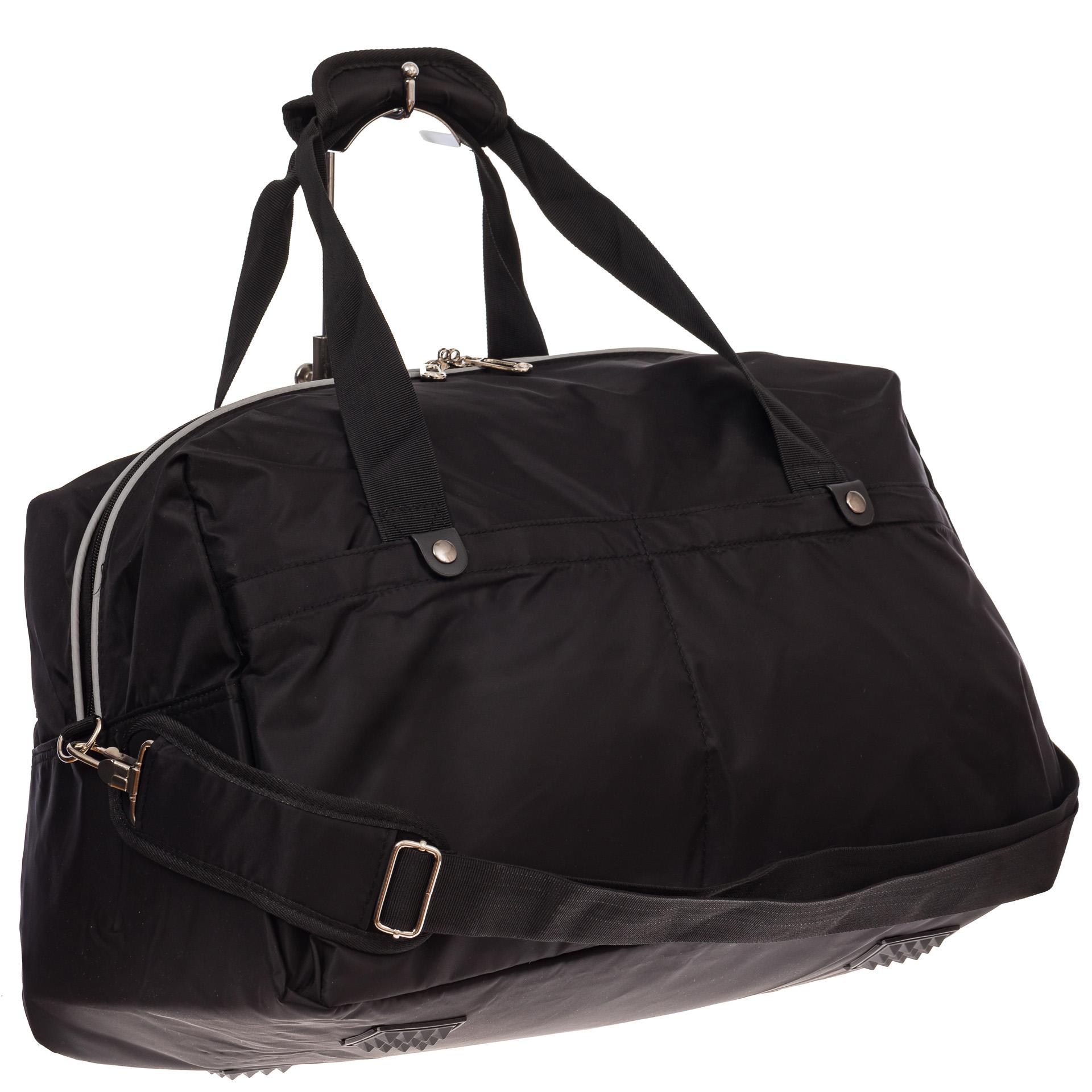 На фото 1 - Легкая и прочная дорожная сумка, цвет черный