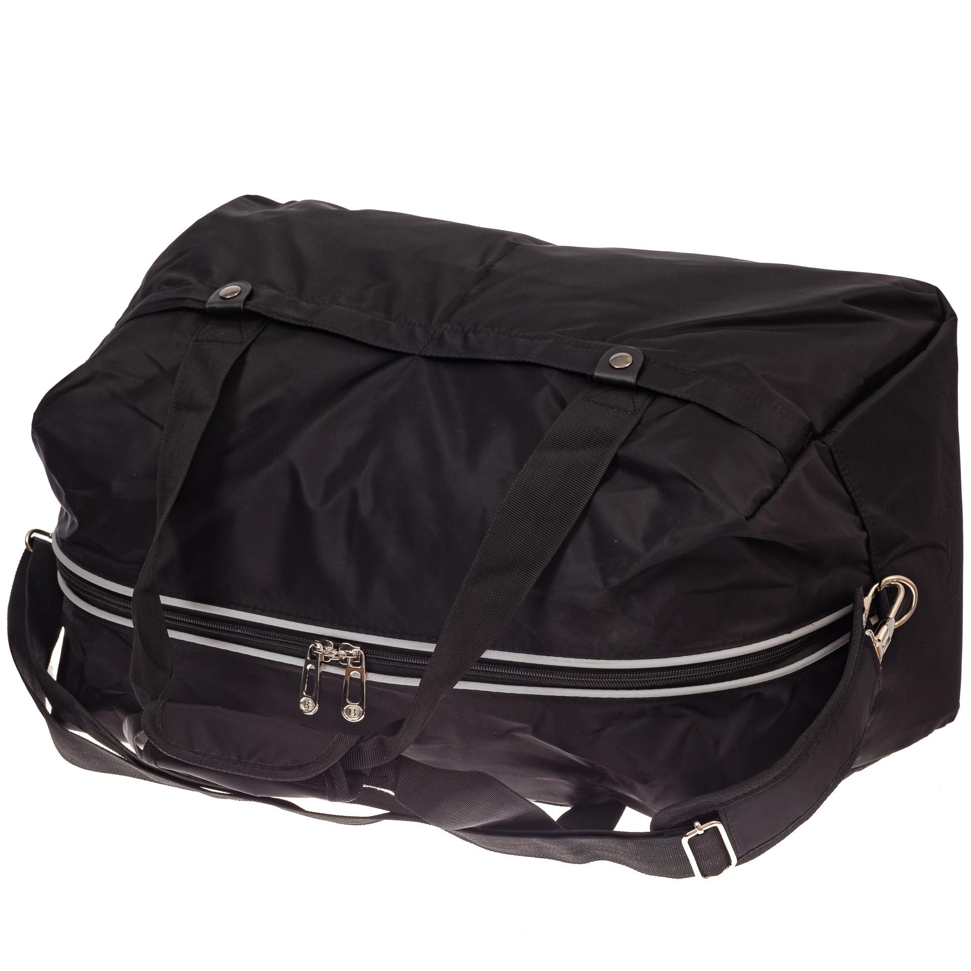На фото 3 - Легкая и прочная дорожная сумка, цвет черный