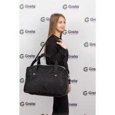 На фото 4 - Легкая и прочная дорожная сумка, цвет черный