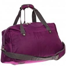 На фото 1 - Легкая и прочная дорожная сумка, цвет фиоле...