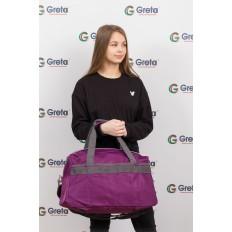 На фото 4 - Легкая и прочная дорожная сумка, цвет фиолетовый