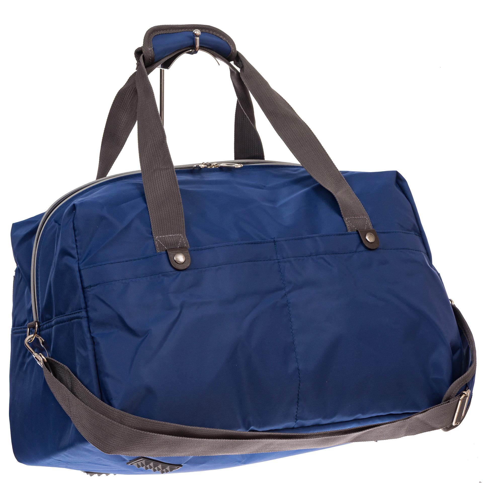 На фото 1 - Легкая и прочная дорожная сумка, цвет синий