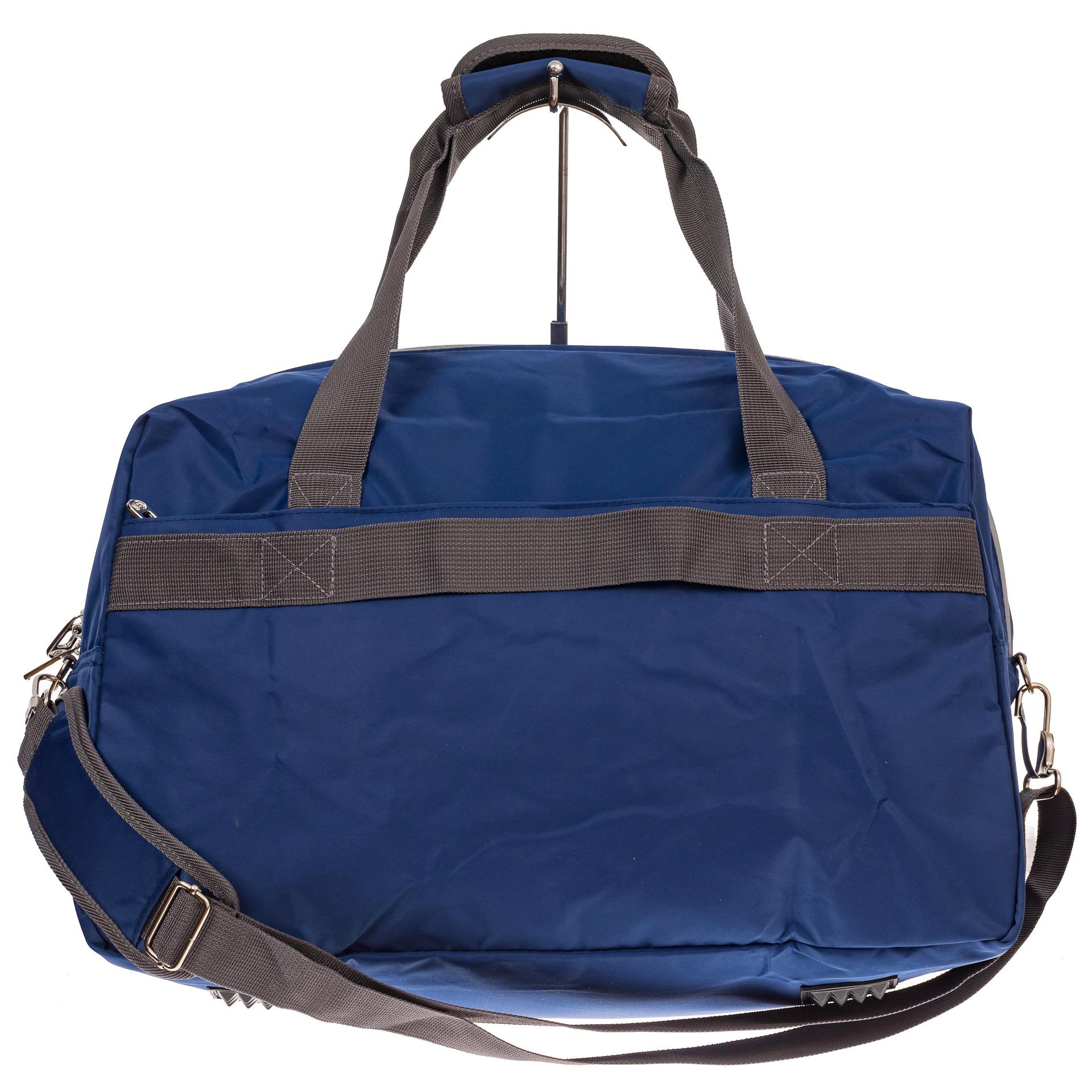 На фото 2 - Легкая и прочная дорожная сумка, цвет синий