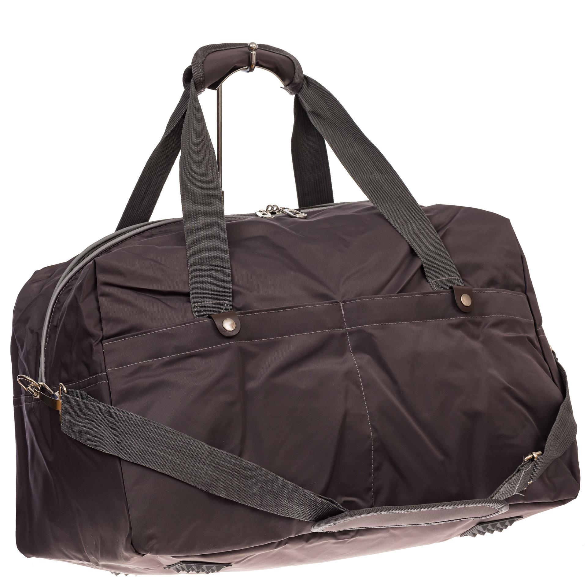 На фото 1 - Легкая и прочная дорожная сумка, цвет серый