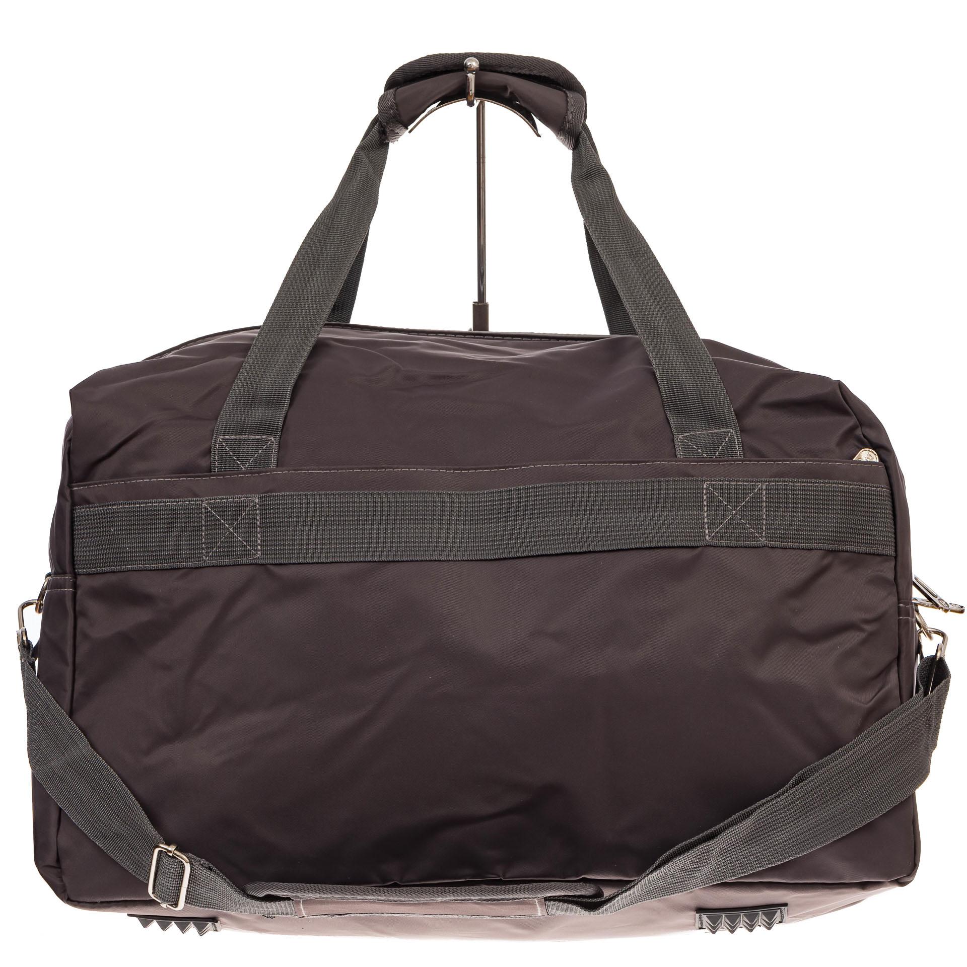 На фото 2 - Легкая и прочная дорожная сумка, цвет коричневый