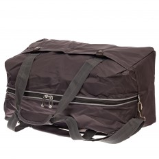 На фото 3 - Легкая и прочная дорожная сумка, цвет коричневый