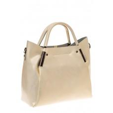 На фото 1 - Женская сумка-тоут из натуральной кожи, цве...