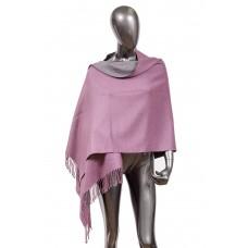 На фото 1 - Шарф-палантин из кашемира, цвет фиолетовый