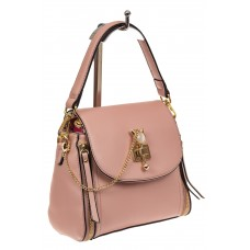 На фото 1 - Наплечная сумка из искусственной кожи с эфф...
