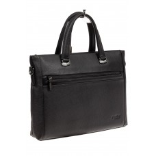 На фото 1 - Мужской кожаный портфель с отделением под н...
